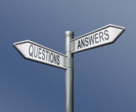 questions roadsign